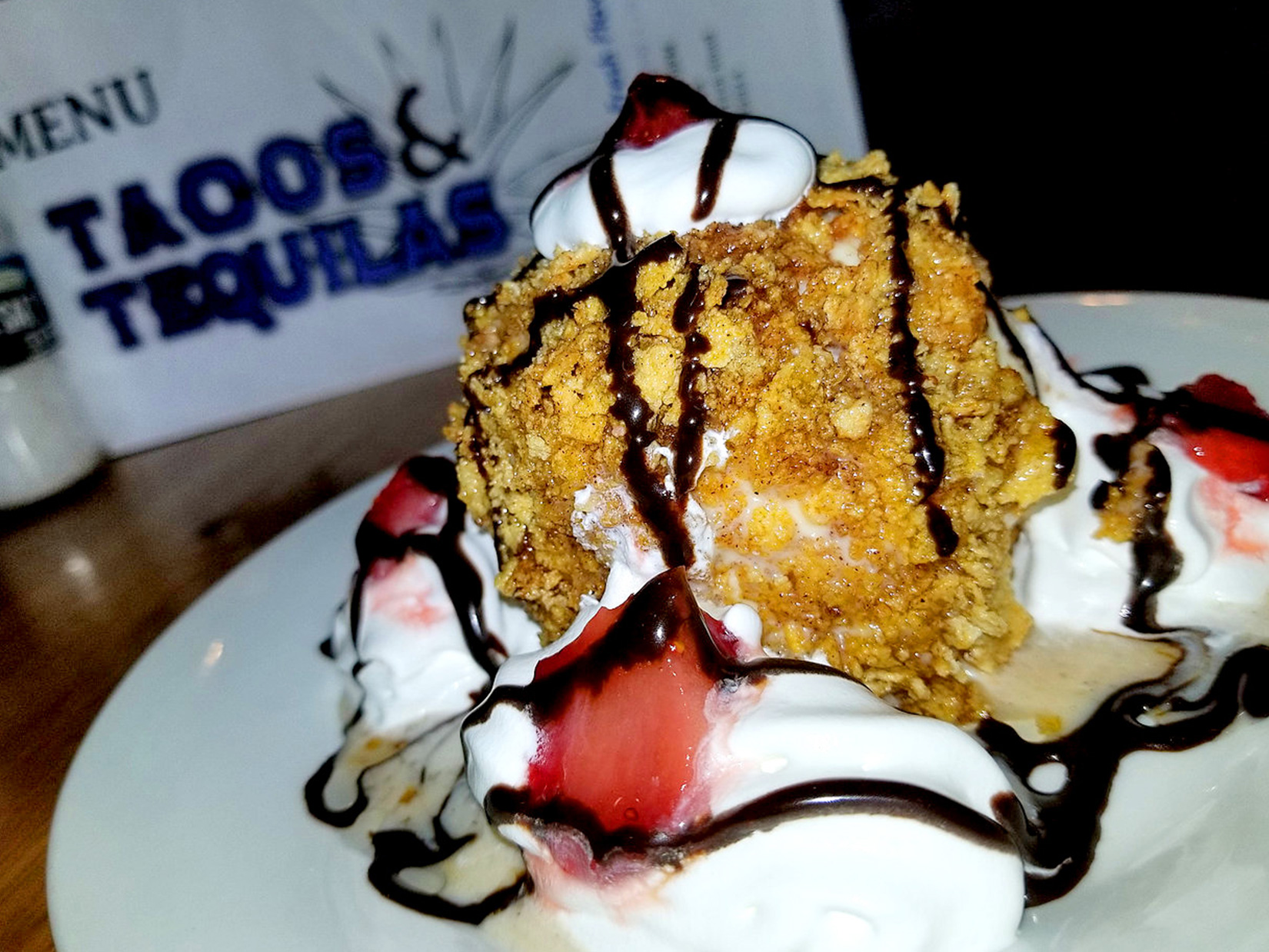 Fried Ice Cream | Desserts
