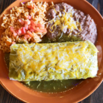 Green Chili Burrito Enchilada Style | Burritos